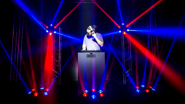 Chauvet DJ Helicopter Q