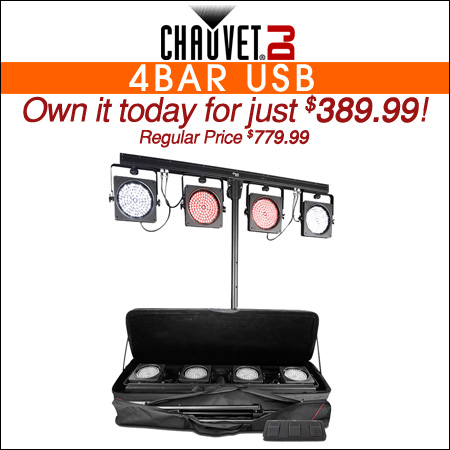 Chauvet DJ 4BAR USB