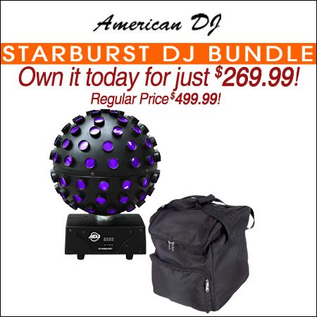 American DJ Starburst DJ Bundle