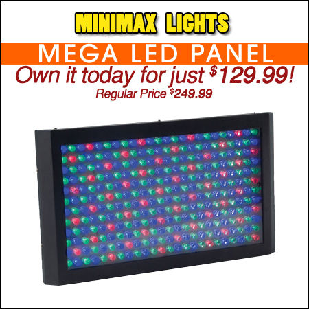 MiniMax Mega LED Panel