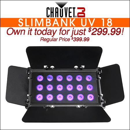 Chauvet Slimbank UV 18