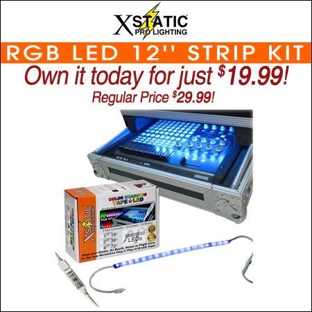 XStatic RGB LED 12'' Strip Kit