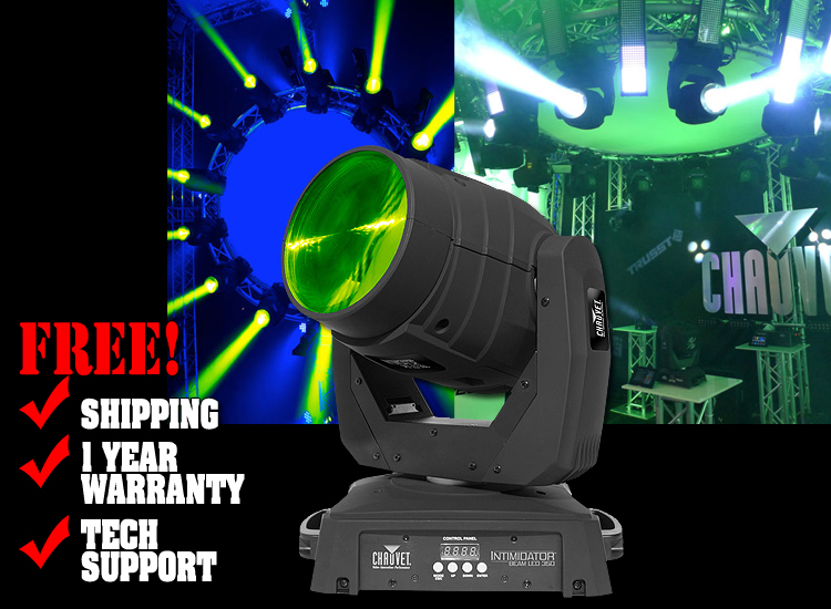 DJ Intimidator Beam LED 350