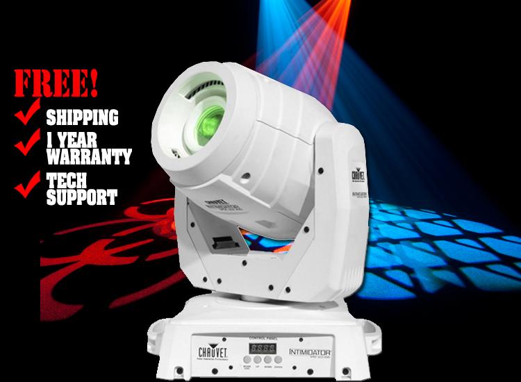 Chauvet DJ Intimidator Spot LED 350 White