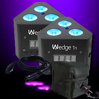 Chauvet Wedge Tri Two Pack