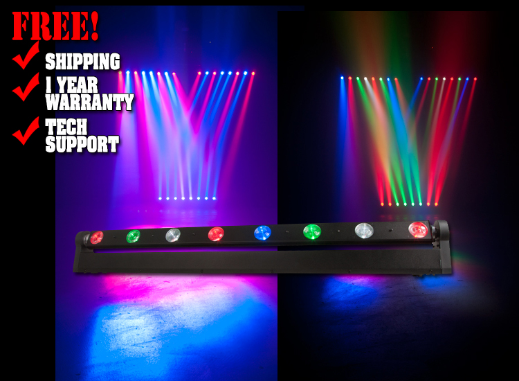 ADJ Sweeper Beam Quad LED