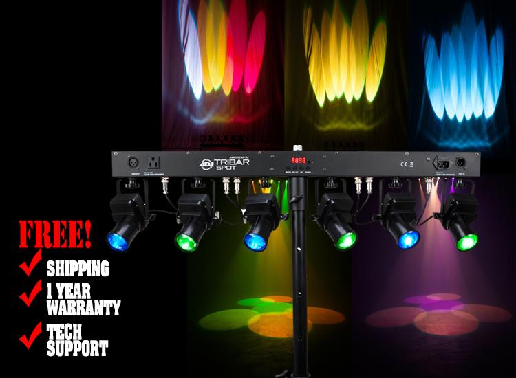 American DJ Tribar Spot
