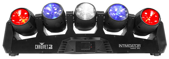 Chauvet DJ Intimidator Wave IRC Bundle