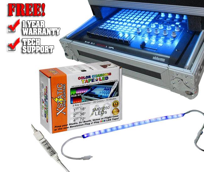 XStatic RGB LED 12'' Strip Kit
