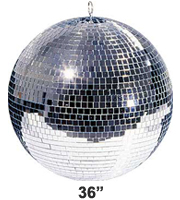 Pro Grade 36 inch Mirror ball