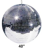 Pro Grade 40 inch Mirror ball