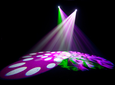 Chauvet DJ Intimidator Spot 255 IRC White Two Pack