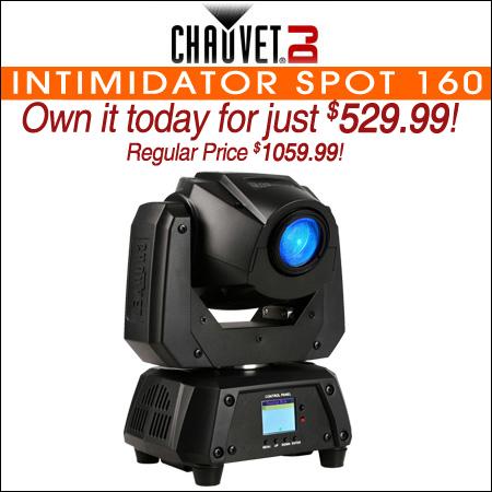 Chauvet DJ Intimidator Spot 160 32W LED Moving-head Spot