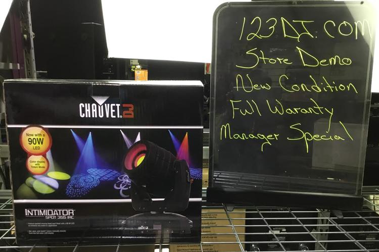 DJ Intimidator Spot 355 IRC Store Demo