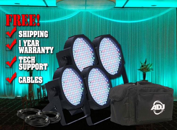 American DJ Mega Flat Pak Uplighting System