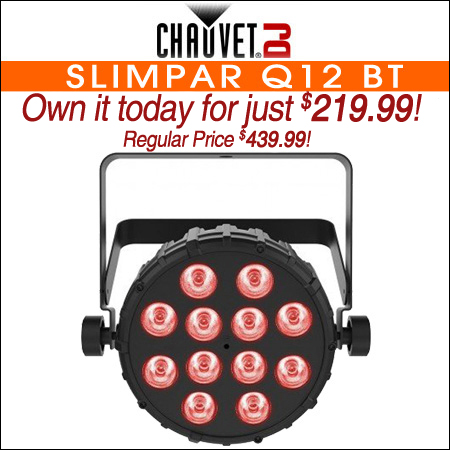 Chauvet DJ SlimPAR Q12 BT Wash Light