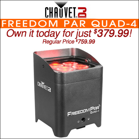 Chauvet Freedom Par Quad-4