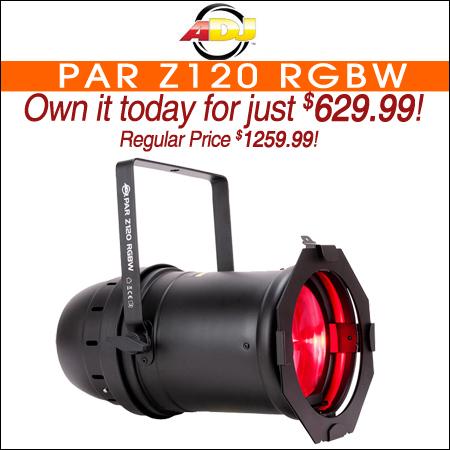 ADJ PAR Z120 RGBW