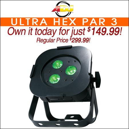 American DJ Ultra HEX Par 3