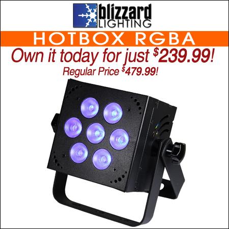 Blizzard HotBox™ RGBA
