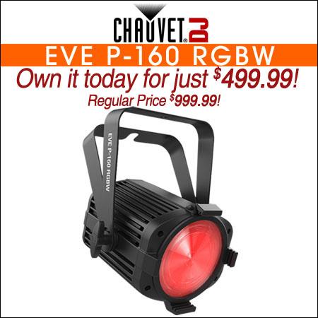 Chauvet DJ EVE P-160 RGBW
