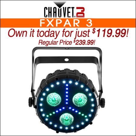 Chauvet DJ FXpar 3