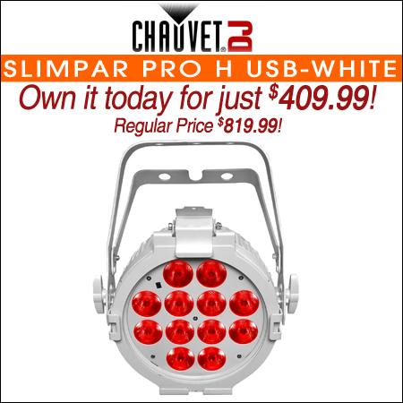 Chauvet DJ SlimPAR Pro H USB White