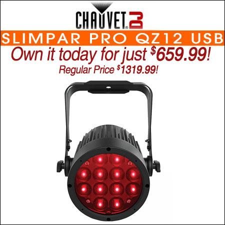 Chauvet DJ SlimPAR Pro QZ12 USB