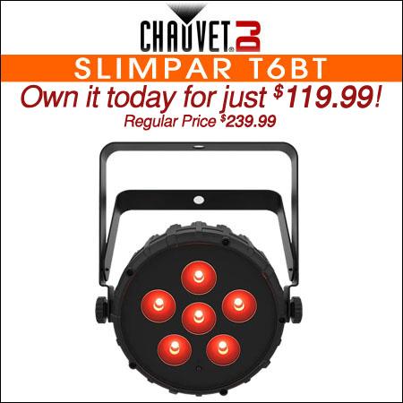 Chauvet DJ SlimPAR T6BT