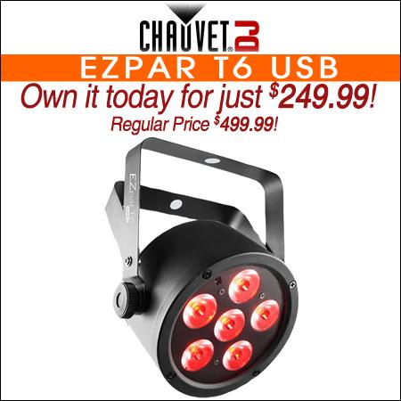 Chauvet EZpar T6 USB