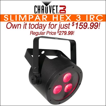Chauvet SlimPAR HEX 3 IRC