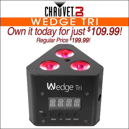 Chauvet DJ Wedge Tri