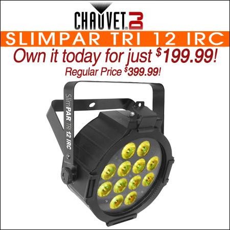 Chauvet SlimPAR Tri 12 IRC