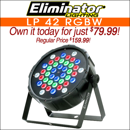 Eliminator LP 42 RGBW