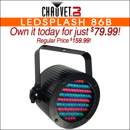 Chauvet LEDsplash 86b