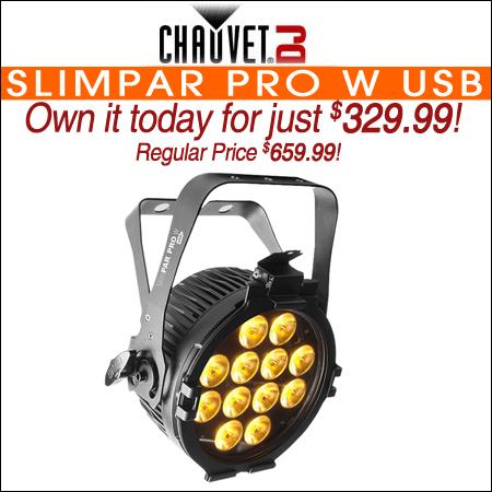 Chauvet DJ SlimPAR Pro W USB