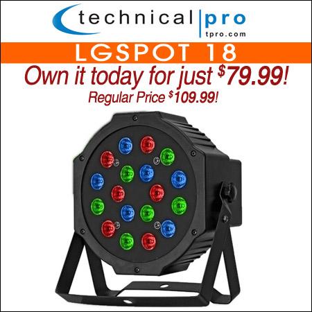 Technical Pro LGSpot 18