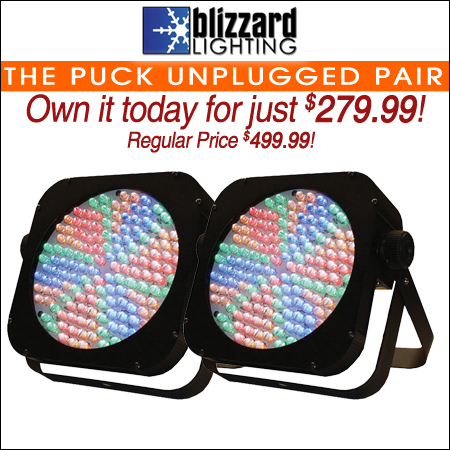 Blizzard The Puck Unplugged Pair