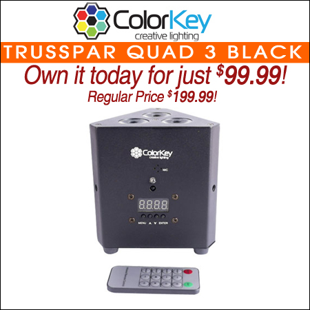 ColorKey TrussPar QUAD 3 Black