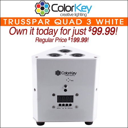 ColorKey TrussPar QUAD 3 White