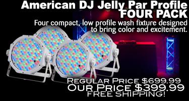 Jelly Par Profile Four Pack