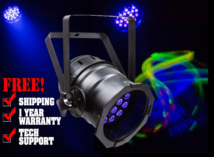 Chauvet LED Par 38-18 UVB