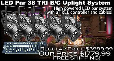 LED Par 38 Tri B/C System