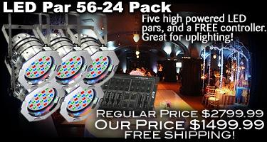 LED Par 56-24 Pack