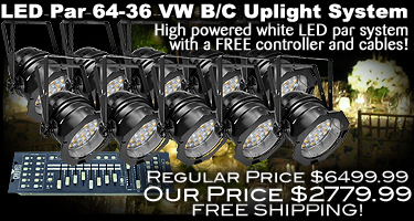 LED Par 6436 VW BC Value Pack