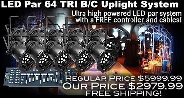 LED Par 64 TRI BC Value System