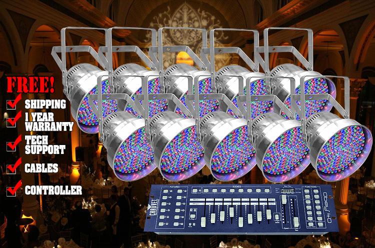 Chauvet LEDrain 64C Uplighting System