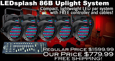 LEDsplash 86B Value Pack