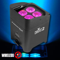 Chauvet Freedom Par Hex-4 Black
