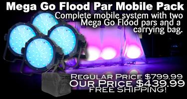 Mega Go Flood Par Mobile Pack